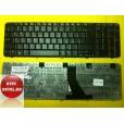 Клавиатура для ноутбука HP Compaq Presario CQ71 CQ70 G71 Series  BLACK с русскими буквами P/N : 0P7A