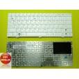 Клавиатура для ноутбука Asus EEEPC 1000 белая, с русскими буквами 904H, 904HA, 904HD, 904HG, 905, 10