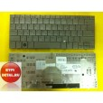 Клавиатура для ноутбука HP 2133 2140 серебрянная, с русскими буквами 468509-251 MP-01C93SU69