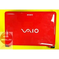 б/у Корпус для ноутбука Sony Vaio 10.1 красный,  без петель