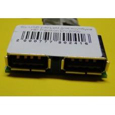 б/у USB разъем для ноутбука HP Pavilion DV2000 DV2700 50.4F501.001 48.4F604.011