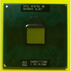 б/у Процессор Intel Celeron Dual-Core CPU T3100 1.90GHz/1M/800 AW80577T3100 Socket 478