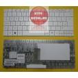 Клавиатура для ноутбука Packard Bell RS65 белая (совместима с Gateway UC78) с английскими буквами MP