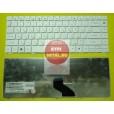 Клавиатура для ноутбука Packard Bell NM85 NM87 NM49, NM85, GATEWAY NV49C белая, с русскими буквами P