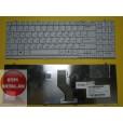 Клавиатура для ноутбука LG Xnote P510 серая, с русскими буквами  AEQL8700010 MP-03753SU-9209