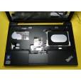 б/у Корпус для ноутбука Lenovo ThainkPad X120e чёрный, тач, кнопка включения, без креплений