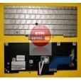 Клавиатура для ноутбука HP 2740P 2760P серебряная, с русскими буквами MP-09B63SU6442 90.4DP07.C0R MP