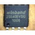 25X40BVSIG W25X40BVSIG флеш память Winbond SOP-8