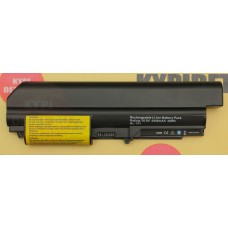 "Аккумулятор для ноутбука Lenovo R61, T61, R400, T400 Series Laptop Battery 14"" wide 10.8 V 4400mAh,"