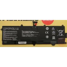 Аккумулятор для ноутбука Asus VivoBook S200, S200E, X202E, 5200mAh, 7.4V, черный C21-X202