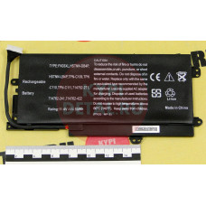 Аккумулятор для ноутбука HP Envy 14-k, Envy M6 (PX03XL, K002TX), 4340mAh, 11.25V, черный