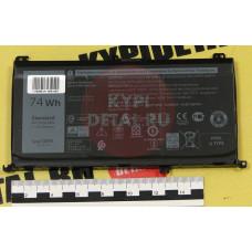 Аккумулятор для ноутбука Dell Inspiron 15-5577, 15-5576, 15-7559, 15-7566, 15-7567, (357F9), 6330mA
