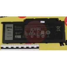 Аккумулятор для ноутбука Dell Inspiron 15-7537, 17-7737, 17-7746, (F7HVR), 58Wh, 14.8V, ORG