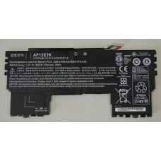 Аккумулятор для ноутбука Acer Aspire S7-191, (AP12E3K), 28Wh, 7.4V, 3790mAh ORG