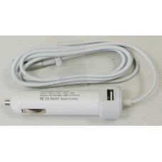 Автомобильная зарядка Apple MagSafe, 60W для A1181, A1278, A1342 (16.5V, 3.65A)