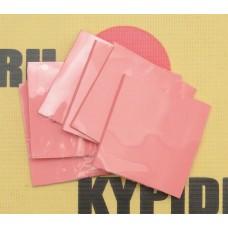 Силиконовая термопрокладка 5см*5см*2мм розовая Теплопроводность: 3,8 Вт / м-К