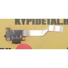 б/у Card Reader Board LS-7986P с разъёмом Jack для Lenovo G580 G585 N580 N585