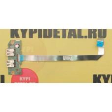 б/у USB плата для ноутбука Dell Inspiron M5040 p/n 48.4IP20.011
