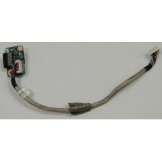 б/у USB плата для ноутбука DNS 124089 +шлейф 422820600006