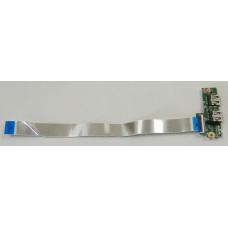 б/у USB плата для ноутбука HP 15-d со шлейфом 010194F00-35K-G