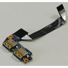 б/у USB плата для ноутбука Toshiba NB550D LS-6853P