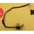 б/у Разъем питания для для ноутбука HP Pavilion DV9000 с кабелем