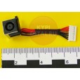 Разъем питания для ноутбука (PJ626) Dell Inspiron 5720 с кабелем