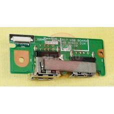 б/у USB board для с 3-портовым USB-портом для Fujitsu Simens Amilo Xa 3530 X17 USB BOARD