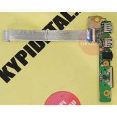 б/у USB плата с разъемами audio, card reader для ноутбука ASUS X502C 69N0P1B10B02-01