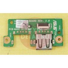 б/у USB плата для ноутбука ASUS X550C 69N0PGB11A00-01