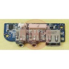 б/у USB/audio плата для ноутбука DNS W270HUQ 6-71-C4508-D03 GP