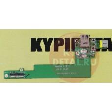 б/у USB плата для ноутбука Acer Aspire 3680 2480 DA0ZR1PB6C3 + кнопка включения
