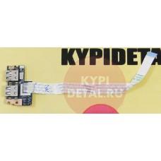 б/у USB плата для ноутбука Acer Aspire 5551 5552 eMachines E642 + шлейф LS-5891P  NBX0000ND00