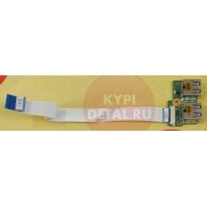 б/у USB плата для ноутбука HP Compaq Presario CQ61-419ER DA00P6TBEO REV.E