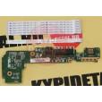 б/у Плата кнопки включения, USB, Audio, LAN, картридера Asus EEE PC 1011PX 60-0A3DI01000-C05 +шлейфы