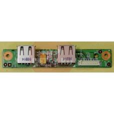 б/у USB плата для ноутбука MSI MS-6837D MS-1719B VER.1.2