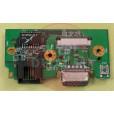 б/у Плата включения с разъемами VGA, LAN (RJ-45) DNS P10BD 0128811 HP/N 5000-0000-8104