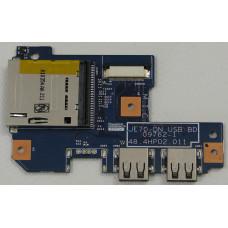 б/у USB плата для ноутбука E-Machines G640 P/N 48.4HP02.011