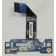 б/у Плата LED индикации Lenovo N580 N585 QAWGH LS-8612P Rev: 1.0 с шлейфом NBX00015400 WINXIN