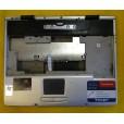 б/у Корпус для ноутбука RoverBook Voyager E410  +тач, цвет серебряный,  нижняя часть P/N 30-800-F621