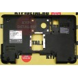 б/у Корпус для ноутбука Toshiba Satellite C850 чёрный, поддон 13N0-ZWA0301