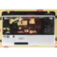 б/у Корпус для ноутбука Toshiba Satellite L750D-112 палмест с тачем ZYE3BBLBTA0IS0110703