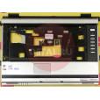 б/у Корпус для ноутбука Toshiba Satellite A110 нижняя часть+поддон+крышки корпуса+рамка матрицы