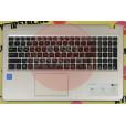 б/у Корпус для ноутбука Asus D540N топкейс (клавиатура рабочая)+тач 13NB0HE1AP0111