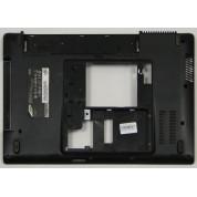 б/у Корпус для ноутбука Samsung R430 чёрный, поддон BA75-02401A+ динамики BA96-04431A