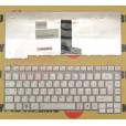 б/у Клавиатура для ноутбука Toshiba A200 A205 A300 M300 L300 серебряная, с русскими буквами P/N KFRS