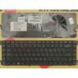 б/у Клавиатура для ноутбука HP Compaq G62 CQ56 G56 CQ62  BLACK с русскими буквами P/N : NSK-HV0SQ 0R