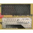 Клавиатура для ноутбука MSI U135 U135DX U160 U160DX Series. чёрная, с русскими буквами  V103622BK1 S