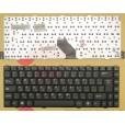 Клавиатура для ноутбука Dell Inspiron 1425 1427  чёрная, с русскими буквами 04GNI51KUS20, K020602F2,