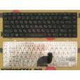 б/у Клавиатура для ноутбука DELL Inspiron 1470 чёрная, с русскими буквами P/N AEUM2700110